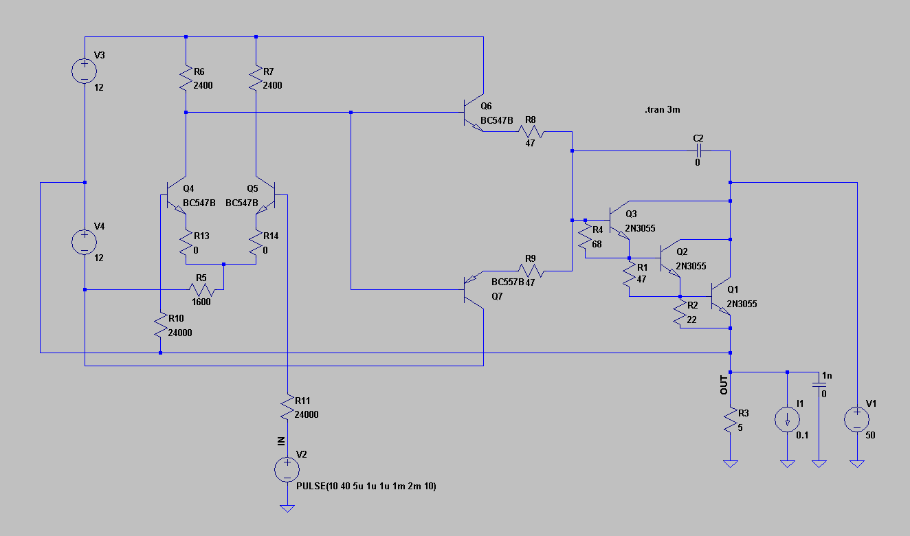 Amplifier Non Inverting Circuit Diagram 1